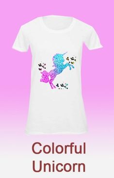 Unikornis egyedi női pólók neked  Lovas női póló   Lovas női pólók   loveliness   7b03c71989