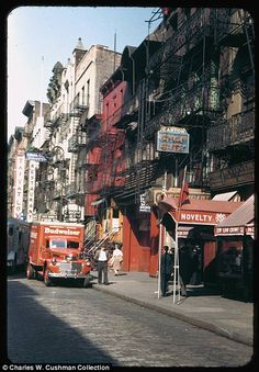 New York City photos by Charles W. Cushman reveal 1940s life in the Big Apple | Mail Online