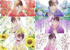 ImageFind images and videos about anime, osomatsu-san and ichimatsu on We Heart It - the app to get lost in what you love. Gato Anime, Manga Anime, Anime Art, Kawaii Anime, Otaku, Osomatsu San Doujinshi, Gekkan Shoujo Nozaki Kun, Another Anime, Ichimatsu