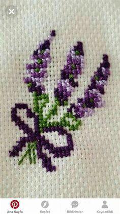 Cross Stitch Pattern Maker, Easy Cross Stitch Patterns, Cross Stitch Borders, Cross Stitch Flowers, Cross Stitch Designs, Cross Stitching, Hand Embroidery Stitches, Diy Embroidery, Embroidery Patterns