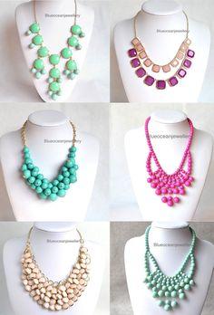 J.Crew Inspired necklaces $15