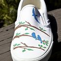 painted shoes... style not shoe