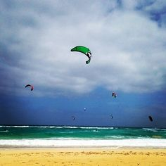 Pablo kitesurfing in Fuerteventura, Canary Islands | WeKite.eu