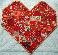 Cute Table Topper for Valentine's Day
