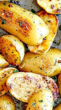 Garlic Ranch Potatoes ❊