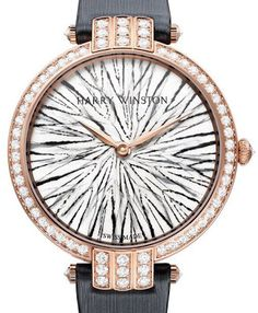 World of Watches: Premier Feathers Luxury with feathers from the Harry Winston