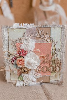 A 15*15 greeting card made in a rustic style will remind you of the countryside, its fresh air and its cosy atmosphere. This is an excellent additional gift for your friends or family❤️🌿