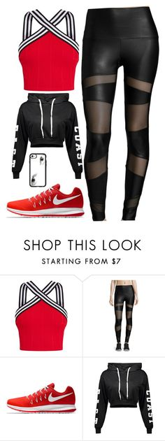 """""""sport"""" by danae-18 ❤ liked on Polyvore featuring Onzie, NIKE and Casetify"""