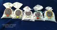 Sachet Bag by EmbroideryStuff on Etsy, $10.00