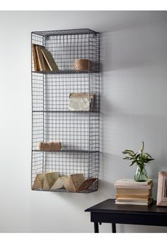 Wire Wall Rack - Large - Storage