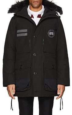 Canada Goose Maccullouch Fur-Trimmed Down Parka - Coats - 505314670