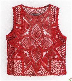 Fabulous Crochet a Little Black Crochet Dress Ideas. Georgeous Crochet a Little Black Crochet Dress Ideas. Gilet Crochet, Crochet Tunic, Crochet Jacket, Diy Crochet, Crochet Clothes, Crochet Bikini, Crochet Top, Black Crochet Dress, Pineapple Crochet