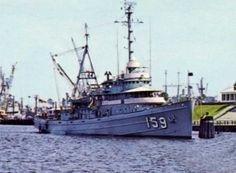 USS Paiute (ATF-159) at her customary berth at NAS Mayport, FL.