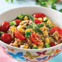Salade d'orge mondé, vinaigrette à l'origan - Recettes - Cuisine et nutrition - Pratico Pratique
