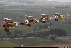 Fokker DR-1 Triplanes.