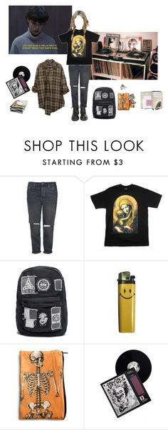 """GRIMES"" by jennyryanfecitt ❤ liked on Polyvore featuring Dr. Martens and Topshop"