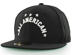 All-American 59Fifty Fitted Baseball Cap by BLACK SCALE x NEW ERA