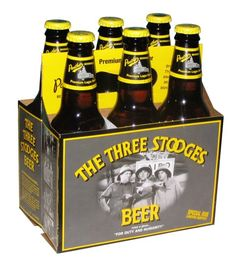 """Three Stooges Beer is back! C3 announced that Panther beer will be reintroducing the popular Three Stooges Beer this fall """"For Duty and Humanity"""""""