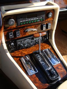 The interior of the #Jaguar #XJ6 Series III is still, in my humble opinion, one of the beautiful pieces of craftsmanship I've ever seen...there has never been a more perfect dashboard, ever.