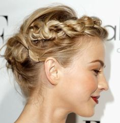 Braids for short hair, hairstyle super cool and original