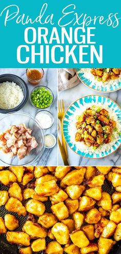 This Panda Express Orange Chicken consists of crispy chicken tossed in a sweet and spicy orange sauce. It's super easy to make at home! #pandaexpress #orangechicken Panda Express Orange Chicken, Winner Winner Chicken Dinner, Crispy Chicken, Sweet And Spicy, Chicken Recipes, Vegan Recipes, Meals, Ethnic Recipes, Food