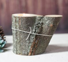 Blessed Wood Candle Holder Boyfriend gift 5th by GFTWoodcraft