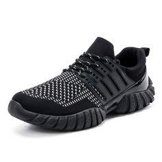 Sougen Air Mesh Mens Shoes Casual Breathable Superstar Rubber Shoes Men Lace Up Black Mans Footwear Zapatos Hombre Basket 2017 #Affiliate