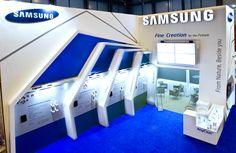 Samsung Fine Chemicals Booth at CPhI Worldwide 2012 Madrid, Spain Designed by Decorée Korea #cphi