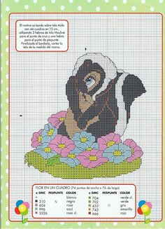 Solo Patrones Punto Cruz (pág. 431) | Aprender manualidades es facilisimo.com