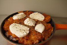 270 calorie Chicken Parmigiana before baking