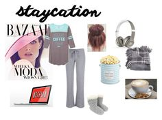 """""""comfortable staycation"""" by fashionista-sundus on Polyvore featuring Accessorize, Bela, The Hampton Popcorn Company and Beats by Dr. Dre"""