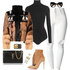 Shop from luxury labels, emerging designers and streetwear brands for both men and women. Gucci, Off-White, Acne Studios, and more. Cute Swag Outfits, Classy Outfits, Stylish Outfits, Winter Fashion Outfits, Autumn Winter Fashion, Fall Outfits, Capsule Wardrobe Women, Ysl, Gucci