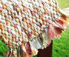 Recycle Fashionably: DIY Woven Rag Rug