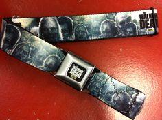 Walking Dead Zombies Seat Belt Belt