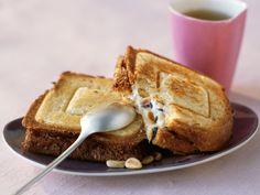 Découvrez la recette Croque monsieur miel chèvre sur cuisineactuelle.fr.