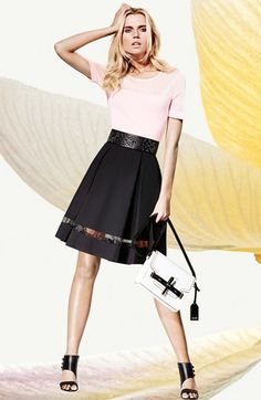 Spring 2014 Vince Camuto Sweater, Skirt & Accessories  available at #Nordstrom