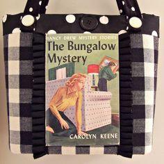 NANCY DREW The Bungalow Mystery Handbag by mysteriousjottings, $50.00