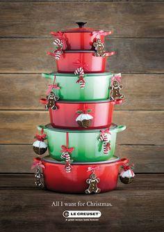 Christmas tree #cocottes #lecreuset #navidad