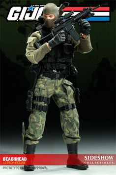 Beachhead / Sixth Scale Figure / Sideshow Collectibles / Edition size: 750 / JCG