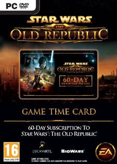 Star Wars: The Old Republic Time Card (PC) - http://www.cheaptohome.co.uk/star-wars-the-old-republic-time-card-pc/