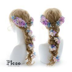 Gallery 391 . Order Made Works Original Hair Accessory for WEDDING . ⭐️結婚式髪飾り⭐️ . ギャラリーからのお気に入り作品より、アレンジを加えたラプンツェルふうスタイル✨ 鮮やかなパープル&ブルーの配色で、ウェディングシーンを華やかに彩ります . #Picco #オーダーメイド #髪飾り#ドレス #結婚式 . . #パープル #ブルー #かすみ草 #ラプンツェル #ウェディングヘア . デザイナー @mkmk1109 . . #ヘアアクセ #ヘッドアクセ #ヘッドドレス #花飾り #造花 #ウェディング #ブライダル #カラードレス #ウェディングドレス #rapunzel #flower #follow #hair #hairstyle #dress #YOLO #accessorize #wedding #happy #beauty いいね!