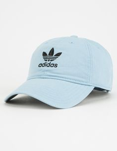 ADIDAS Originals Relaxed Womens Dad Hat - LTBLU - BH7132 9dbff07f2689