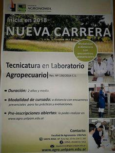 Nueva carrera universitaria: 'Tecnicatura en Laboratorio Agropecuario'