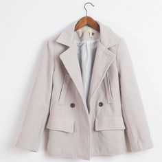 جاكيتات رسميه رمادي سماوي Winter Jackets Jackets Coat