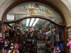 De compras por Praga