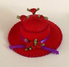 Red Hat Pincushion by Julie Franke