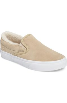 70799812da33c Vans Classic Plush Lined Sneaker (Women) available at  Nordstrom Khaki  Vans