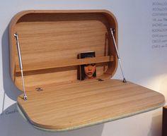 From Ligne Roset...a delightful foldaway cabinet Numbo.
