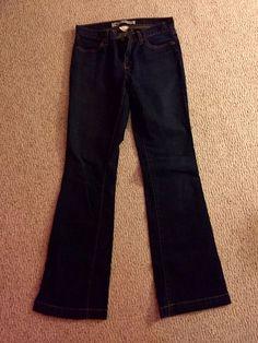 Gap Womens Jeans Size 10 Long and Lean Dark Wash Denim    eBay