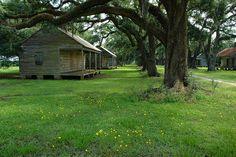 Slave Cabins Plantation Louisiana | Slave Cabins | Flickr - Photo Sharing!